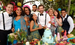 Some of the Top End Wedding cast