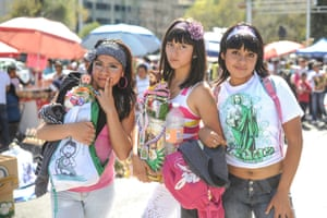San Juditas (Girls celebrate the day of St Jude), 2011