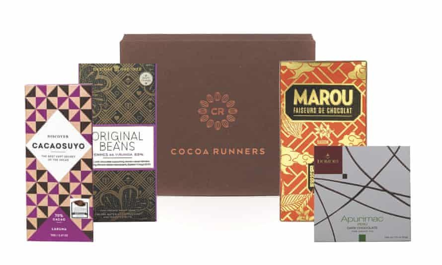 Chocolate parcel
