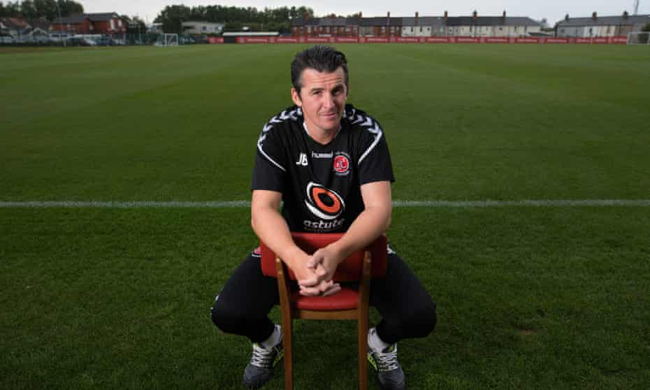 Fleetwood Town's Joey Barton has settled into life at the club's Poolfoot Farm training ground.