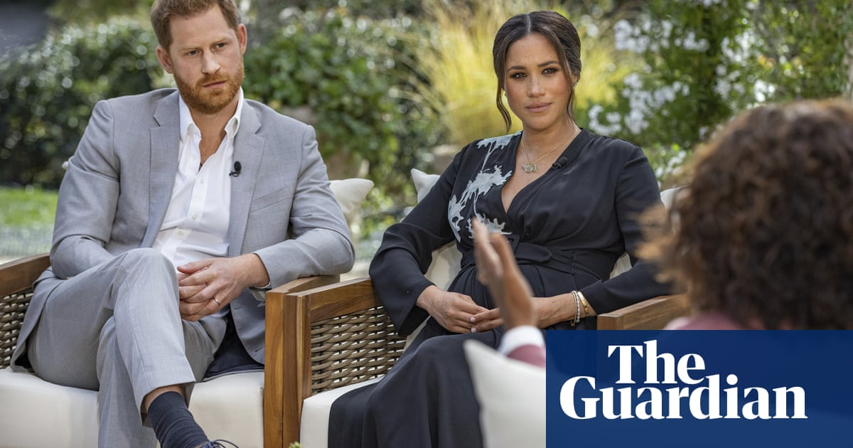 A symbolic moment: Harry and Meghans Oprah interview marks turning point