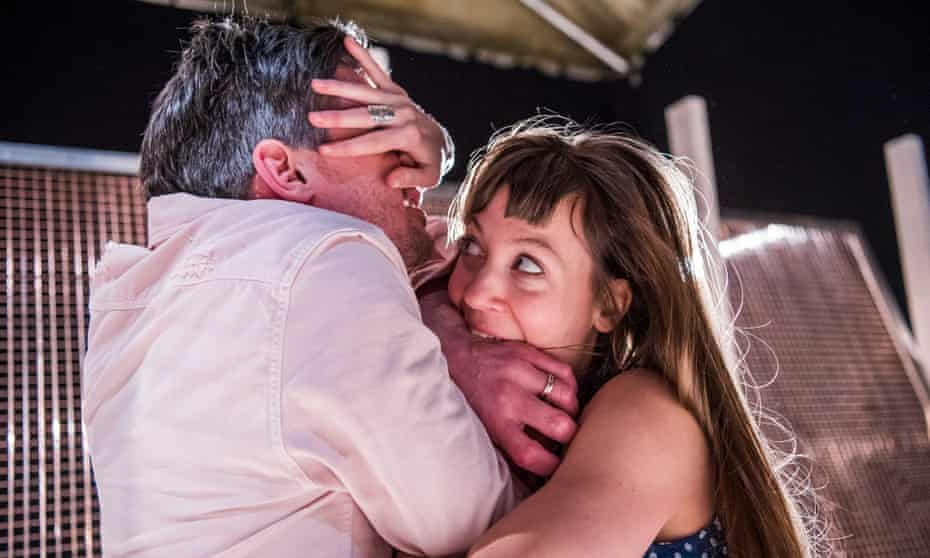 Ben Duke and Solène Weinachter in Juliet and Romeo: A Guide to Long Life and Happy Marriage, by Lost Dog, at Battersea Arts Centre, London.
