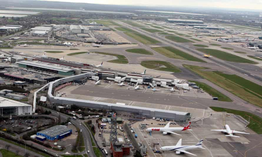 Terminal 4 of Heathrow airport