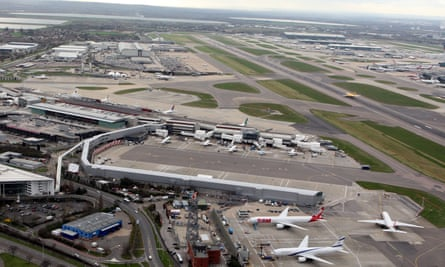 Terminal 4 of Heathrow airport