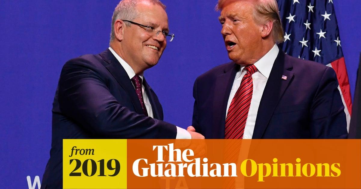 Scott Morrison leaves voters in the dark as Trump draws Australia into impeachment insanity | Katharine Murphy