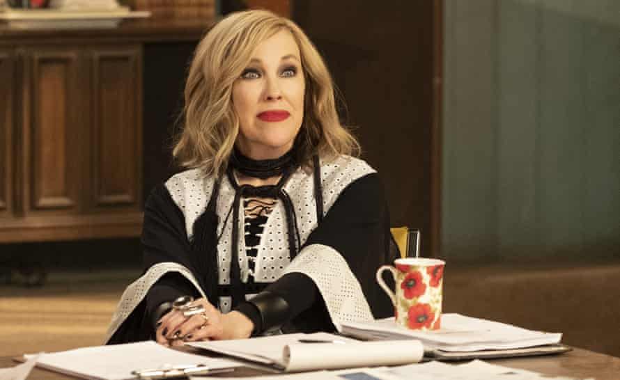 Catherine O'Hara as Moira Rose in Schitt's Creek