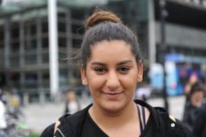 Moon, 20, shop assistant, London