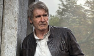 Flying solo ... Harrison Ford's role in Star Wars: The Force Awakens had made him the highest grossing actor of all time.