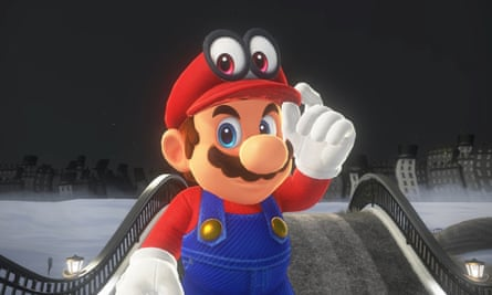 Introducing Nintendo's newest character, Mario's shapeshifting hat.
