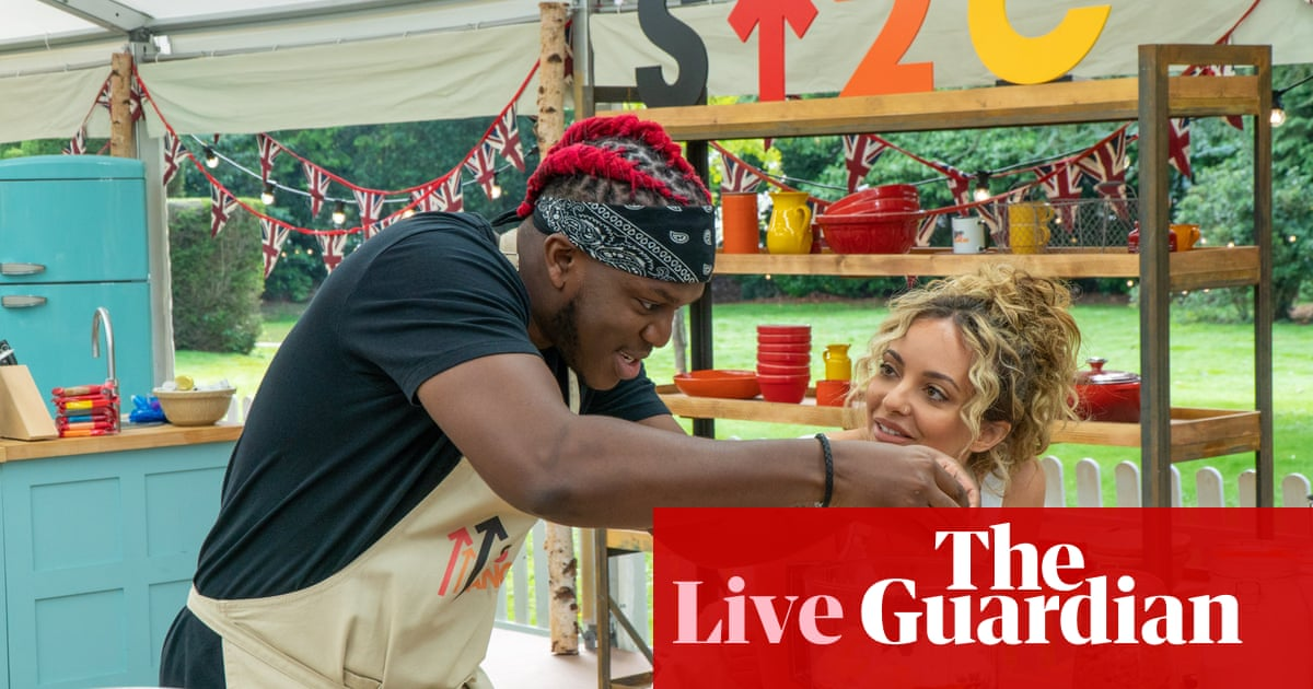 The Great Celebrity Bake Off 2021: episode four – live