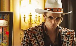 Unflinching … the Elton John biopic Rocketman.