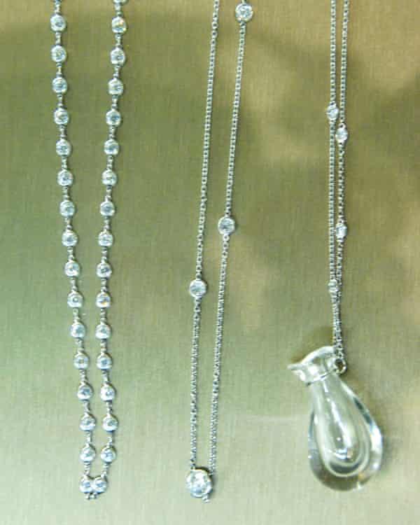 Jewellery Elsa Peretti designed for Tiffany