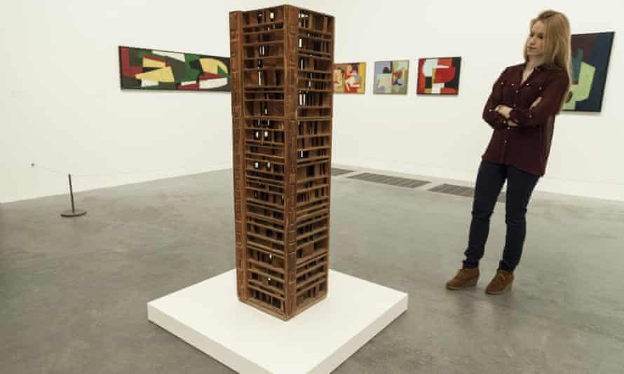 Sculpture With One Thousand Pieces, 1966-68, by Saloua Raouda Choucair, on show at Tate Modern, London, in 2013.