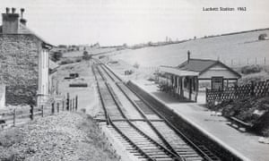 The bad news is that you'll be waiting indefinitely for that train; the last one left exactly 50 years ago. Until the Beeching review of the 1960s, the Callington line was one of the prettiest in the country, built to transport minerals from the Cornish mines to the Tamar.