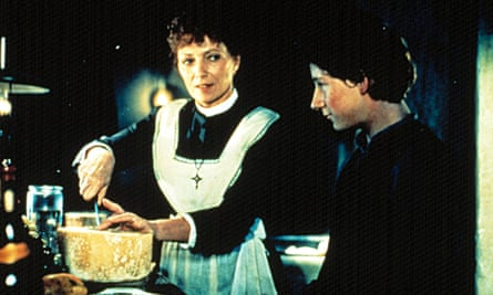 Stéphane Audran, left, in the Oscar-winning Babette's Feast, 1987.
