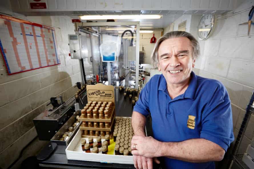 Poppers pioneer … John Addy, of Liquid Gold, Huddersfield.