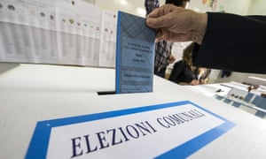 A municipal election in Rome earlier this year.