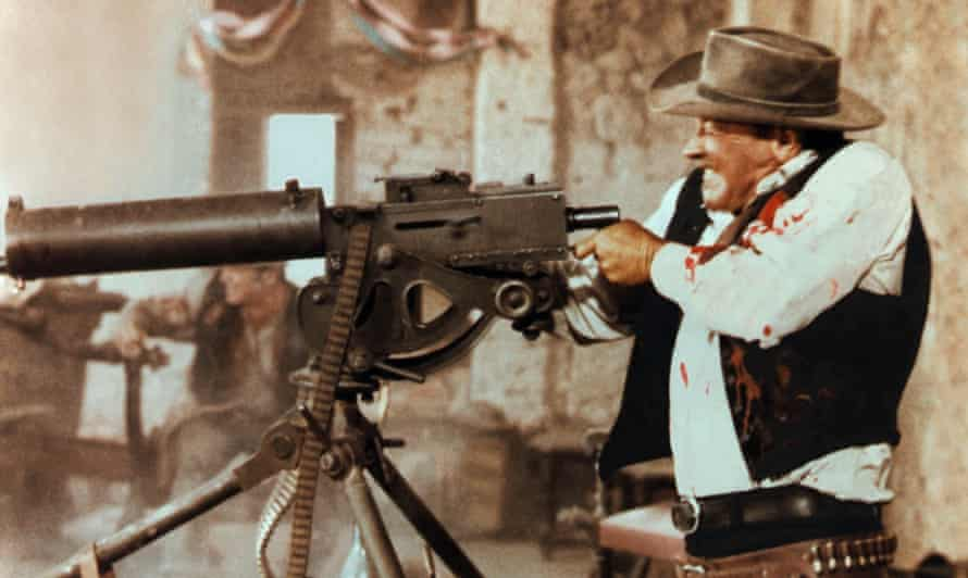 Bloody good: William Holden in the Wild Bunch