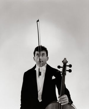French cellist Maurice Baquet, 1958