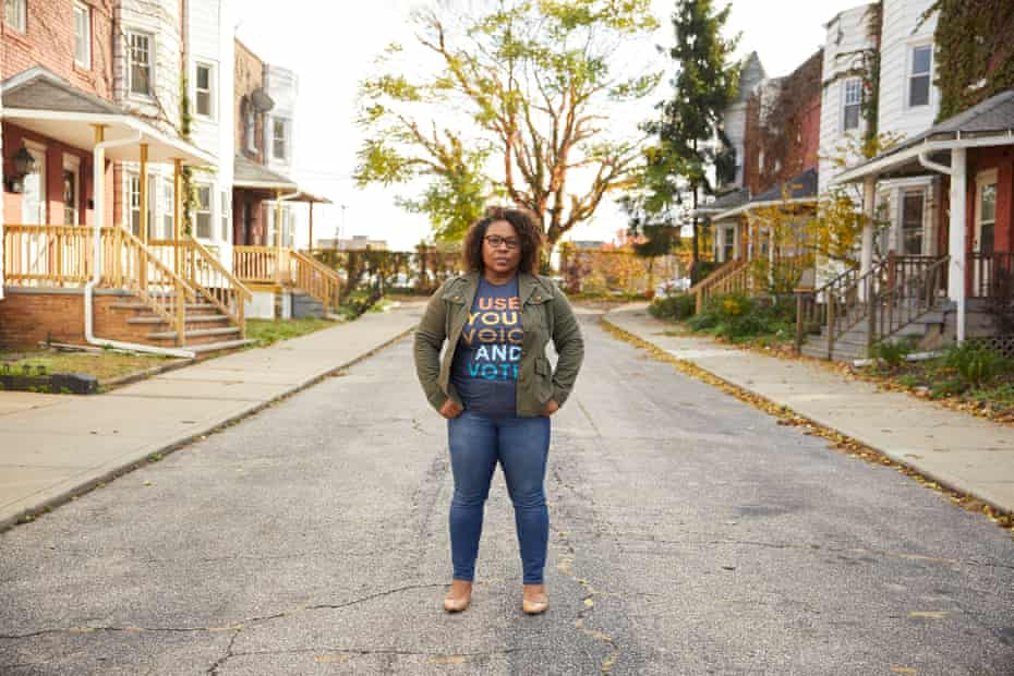 'Voter apathy is a real thing,' said Erika Anthony of Cleveland Votes.