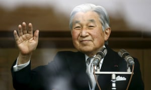Akihito has been emperor of Japan for 27 years.