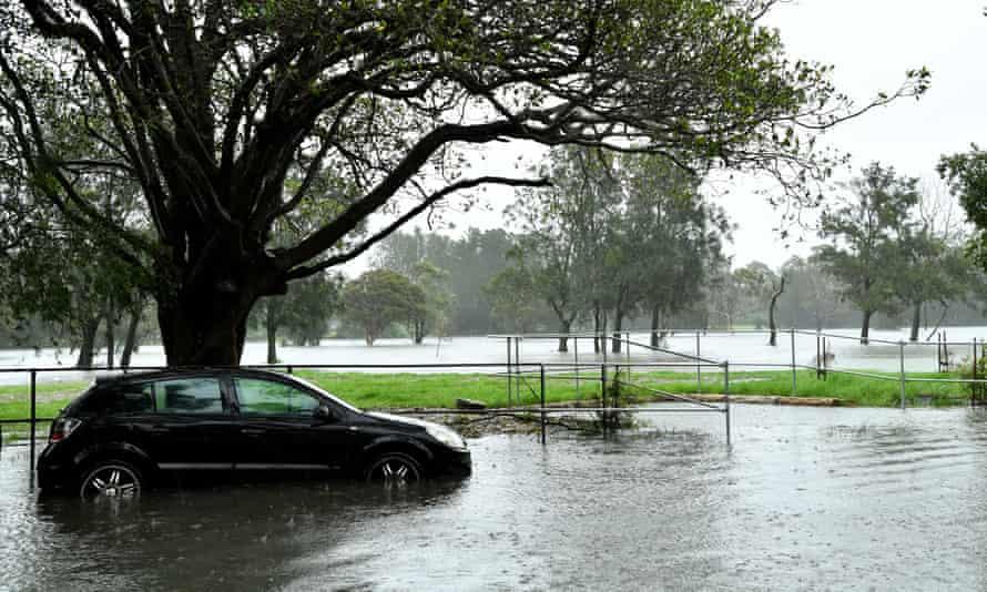 Flooding in Marrickville 2020