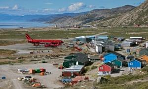 Kangerlussuaq in Greenland.