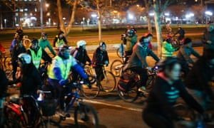 Santiago's Critical Mass-inspired Movimiento Furiosos Ciclistas has pushed cycling up the political agenda.