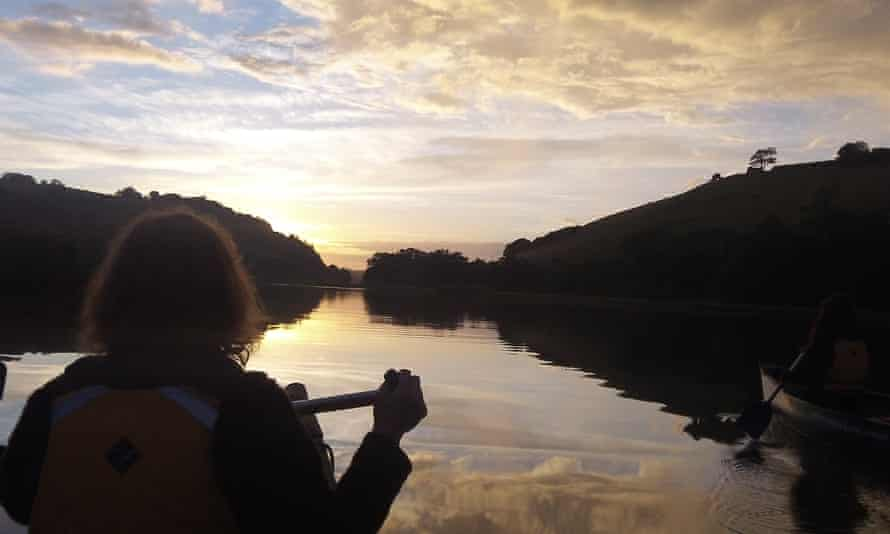 Mindful canoeing on the Dart River