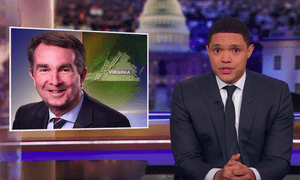 Trevor Noah on Virginia Governor Ralph Northam: 'You shouldn't have to read Roots to know blackface is wrong'.