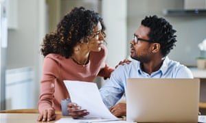 A reader discovered his wife had debts on five credit cards and had recently been made redundant.