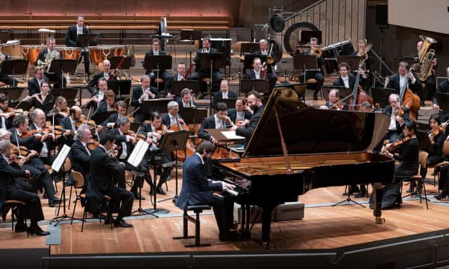 Berlin Philharmonic concert with Daniil Trifonov on piano and Kirill Petrenko conducting.