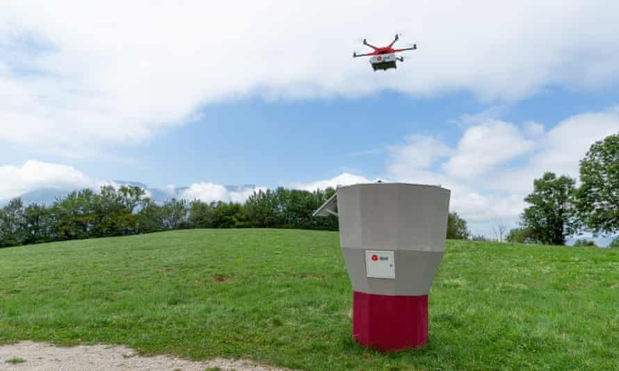 A drone used by La Poste in France.