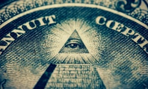 The Eye of Providence on the US $1 bill has interpreted as being associated with Freemasonry and the Illuminati.