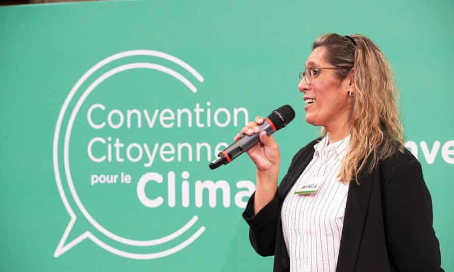 Angela Brito, one of 150 people randomly selected to take part in the French citizens' assembly on climate