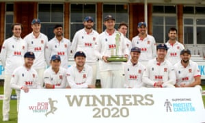 Essex with the Bob Willis Trophy