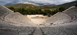 Epidaurus theatre.