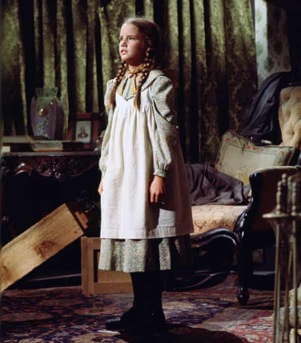 Melissa Gilbert as Laura Elizabeth Ingalls Wilder in Little House on the Prairie.
