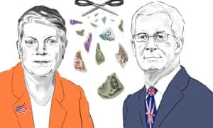 Janet Napolitano and Hugh Brady.