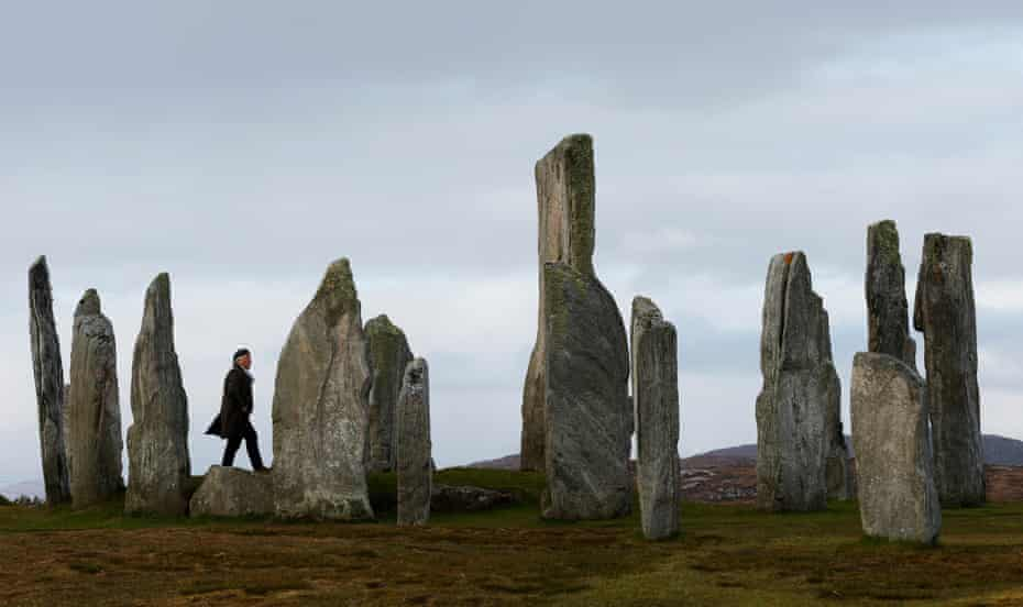 The 5,000 year old  Calanais standing Stones
