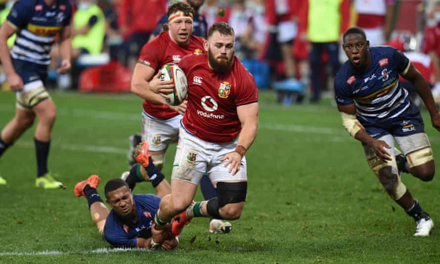 Warren Gatland has gone for raw-edged hunger in his selection, such as the Lions first-timer Luke Cowan-Dickie, above.