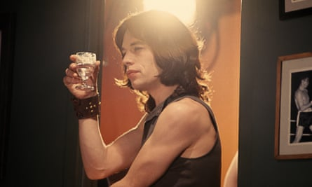 Bottoms up … Jagger as Turner.