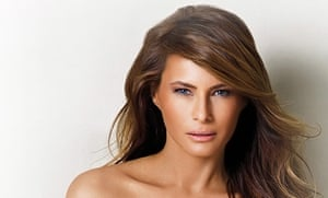 A photograph of Melania Trump from her personal and professional website, which was reported to have disappeared on Wednesday.