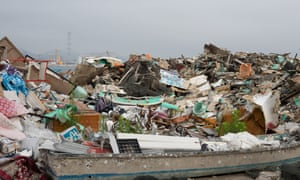 Hundreds of thousands of volunteers helped deal with the aftermath of the 2011 tsunami in Japan.