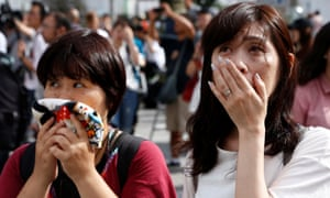 Reactions to Akihito's rare TV address.