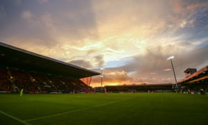 Crewe's Gresty Road stadium. Barry Bennell's crimes, according to the club, were 'not committed in the course of his duties' as their youth-team coach.