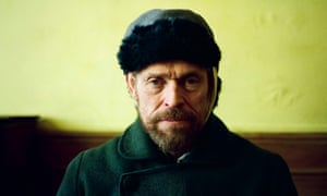 A valuable, intelligent performance … Willem Dafoe as Van Gogh.