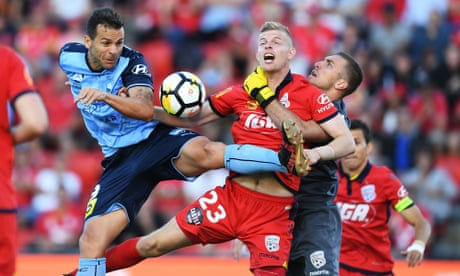 Adelaide keep Sydney goalless as VAR awards City draw with Mariners