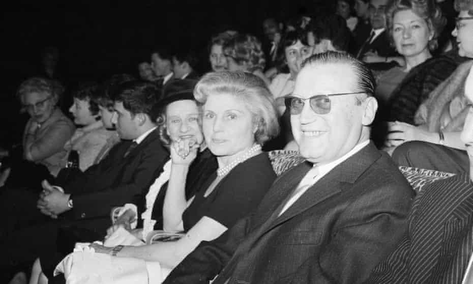 Renée with her husband, actor Maurice Dorleac.