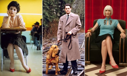 Looks that last… Audrey Horne, Special Agent Dale Cooper, and Diane Evans.